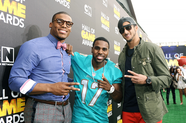 Colin Kaepernick, Cam Newton, Jason Derulo Hall of Game awards