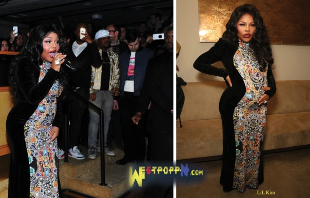LIL KIM at The Blondes show at MILK Studios-ON-WESTPOPPN.COM-