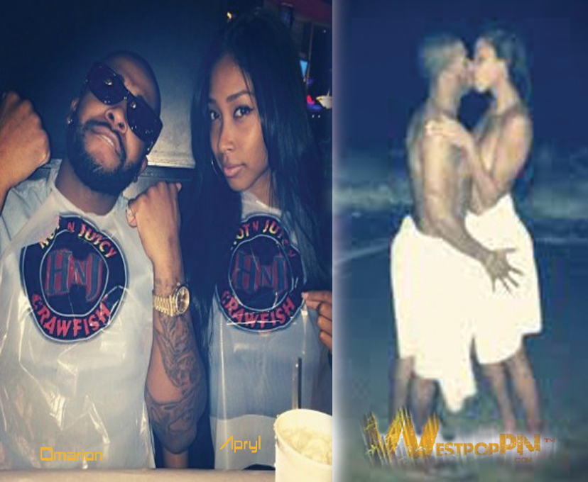 Omarion- amp-girlfriend-Apryl-is- Omarion Pregnant Girlfriend