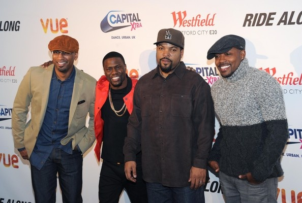 Ice Cube, Kevin Hart, Tim story, & Will Packer @ Capital Xtra Special Fan Screening %22Ride Along%22 -WESTPOPPN.COM