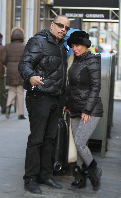 Ice-T and Wife CoCo -Law & Order - Westpoppn.com