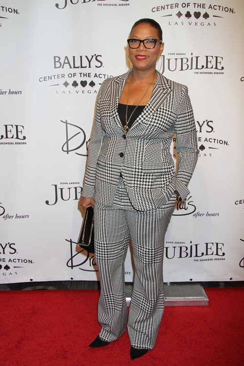 queen Latifah at Jubilee in Las Vegas -WWW.WESTPOPPN.COM