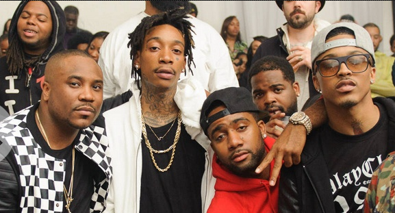 Wiz khalifa at SupperClubTUESDAYS