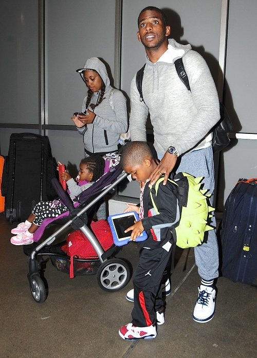 chris paul ,kids, and Jada Paul