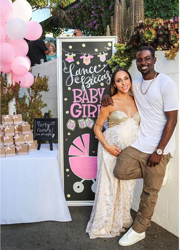 Kelly-Rowland-The-Haqq-Twins-and-Laura-Govan-at-Lance-Gross-and-Fiances-Baby-Shower-11