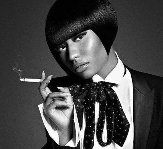 NICKI MINAJ -L.uomo Vogue Cover Shoot -WESTPOPPN.COM