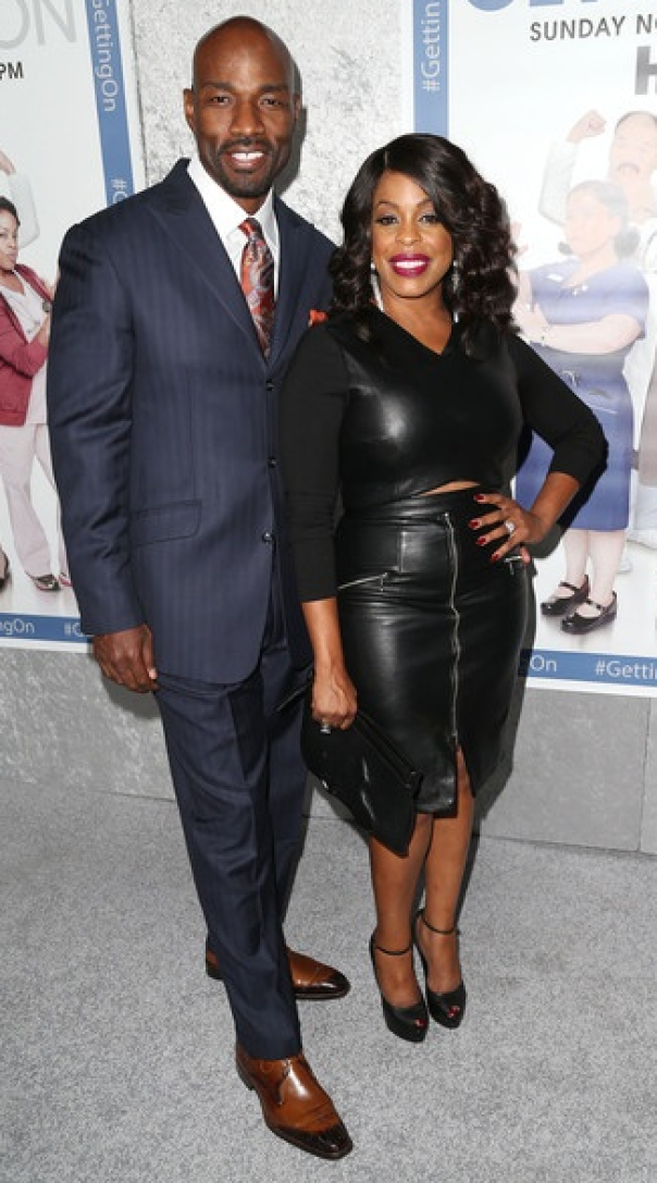 niecy nash & husband Jay tucker