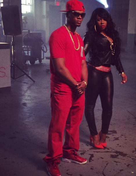 remy Ma & papoose at the BET awards- westpoppn.com