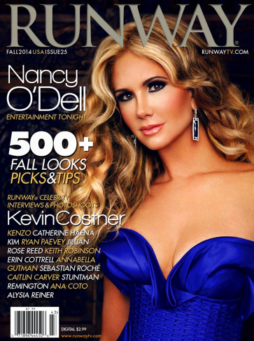 RUNWAYtv -Nancy O'dell FALL COVER-WESTPOPPN.COM