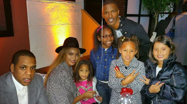 Beyonce, Jay Z, Jamie Foxx, - Annie Movie Premiere -WESTPOPPN.COM