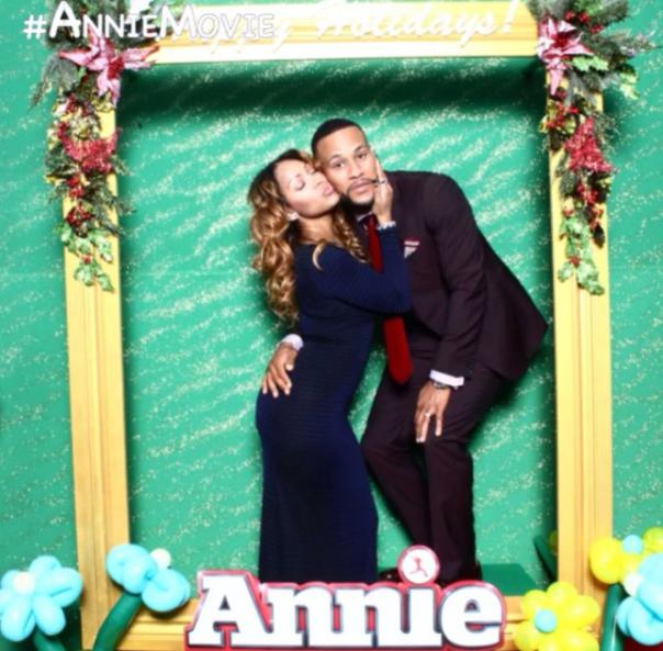 Megan Good Franklin with her Husband Devon Franklin at the #Annie Movie Premiere in NYC -WESTPOPPN.COM