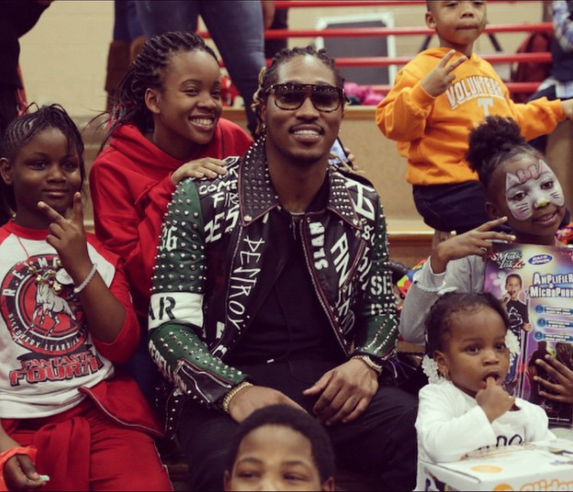 Future The Rapper Daughter Hollywood#talk >> #future gives back to the ... Future Rapper Daughter