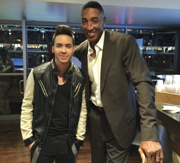 Scottie Pippen & Prince Royce