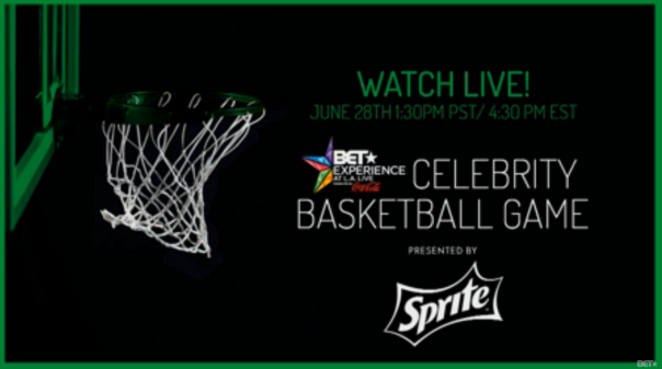 BET Sprite Celebrity Basket BALL game - Westpoppn.com