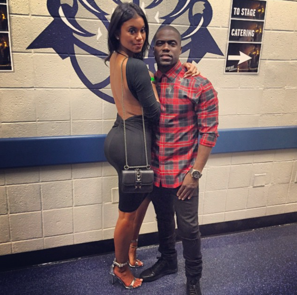 Kevin Hart & girlfriend -WESTPOPPN.COM