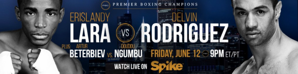 SPIKE TV - Lara vs Rodriguez -WESTPOPPN.COM