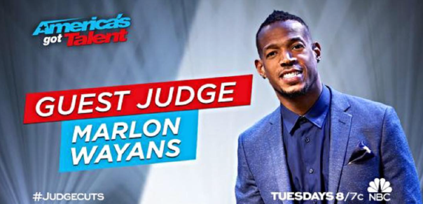 marlon wayans Americas got talent