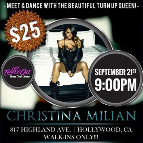meet & dance w:the beautiful christina milian