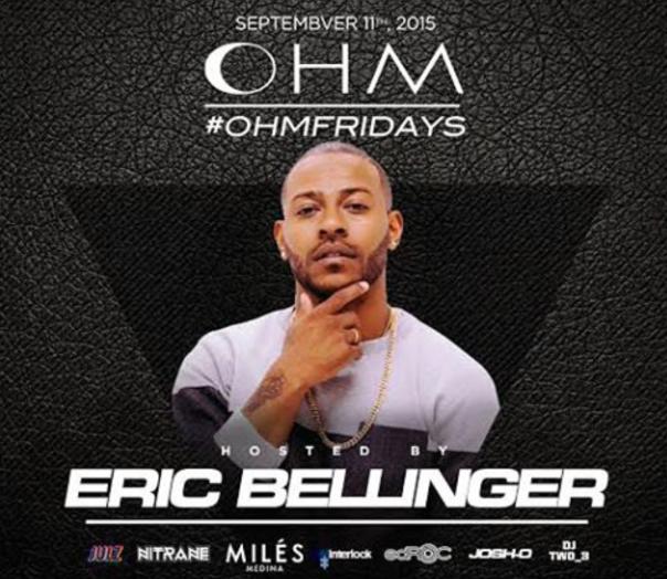 OHM Fridays _Eric Bellinger -WESTPOPPN.COM