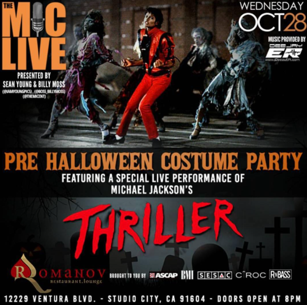 The Mic Live -Pre Halloween Costume Party - Thriller -westpoppn.com