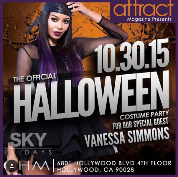 VANESSA SIMMONS -OHM Club on Oct. 30th