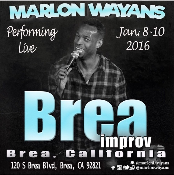 Marlon WAYANS improv