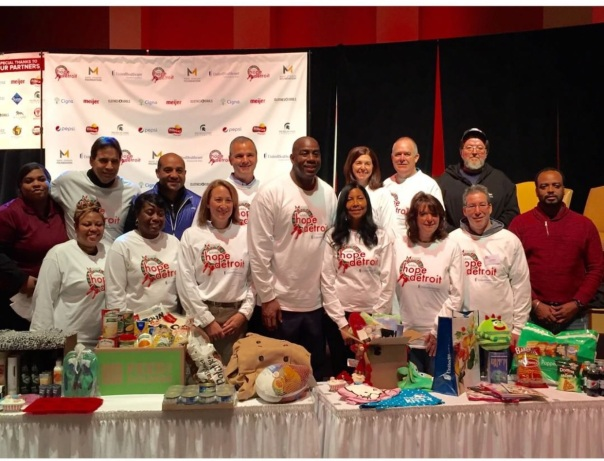 Magic john & cookie team #holidayhope2015