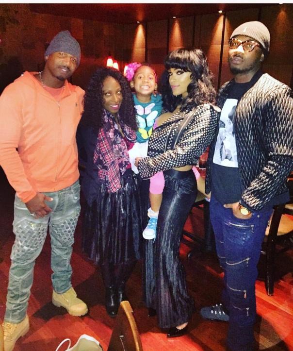 Stevie j & family