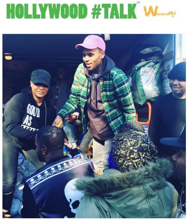 Chris brown turkey giveaway