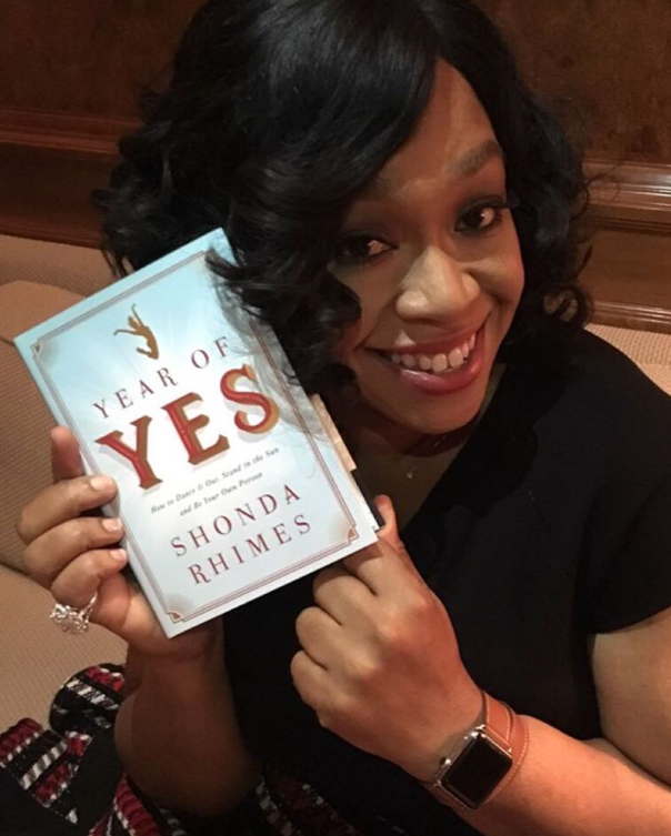 shonda rhimes new book #YearOofYES -westpoppn.com