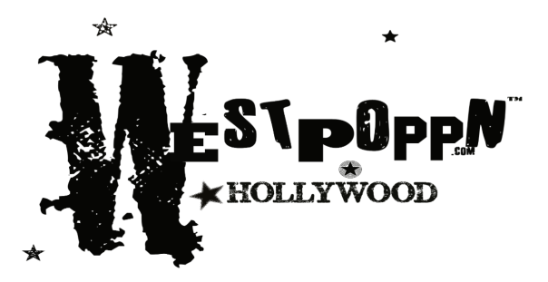 WESTPOPPN HOLLYWOOD TM logo :black