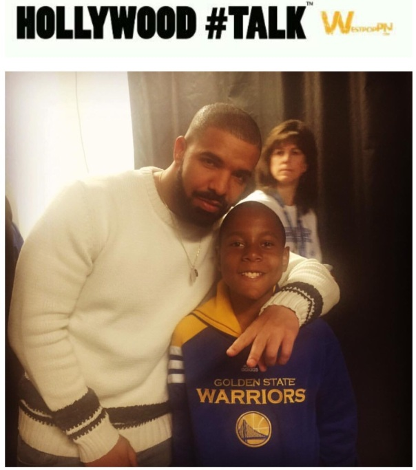 Drake on Christmas with Mc Hammers Son