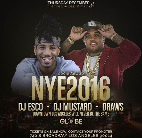 New Years Eve party with Dj Mustard- Westpoppn.com