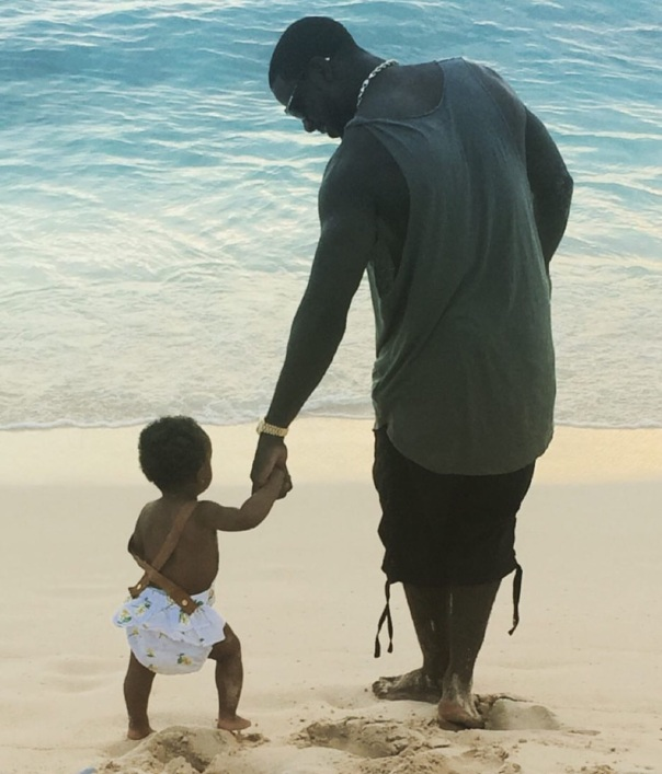 Lance gross & daughter