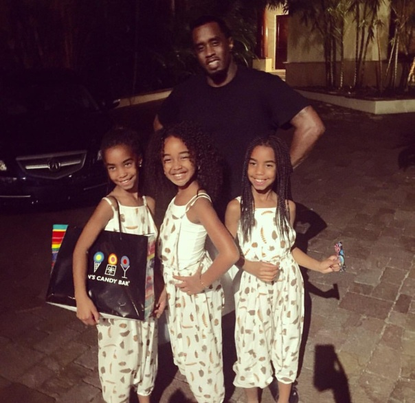 Diddy & his daughter so- Westpoppn.com