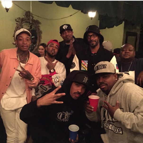 Snoop dogg,wiz Khalifa,problem,badlucc,Daz,Westpoppn.com