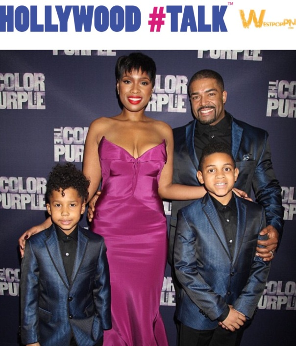 JHUD & family #TheColorPurpleOpening