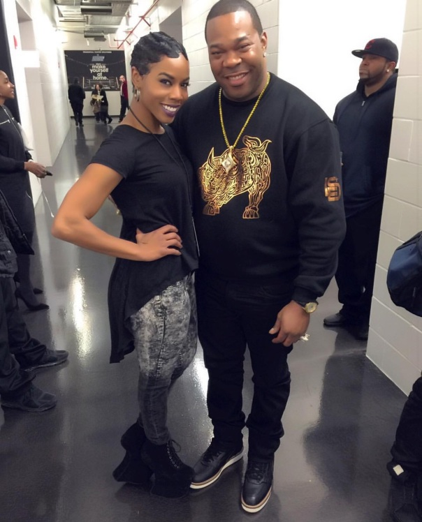 Brandee and busta rhymes
