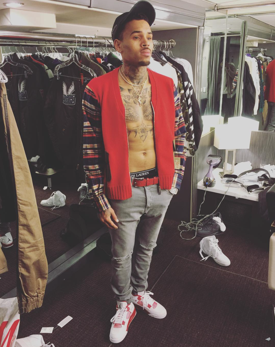 Official Chris Brown Fashion 48