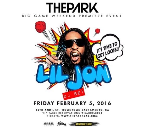 Lil Jon at the park Sacramento- Westpoppn.com