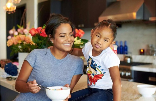 Christina Milian & daughter- Westpoppn.com