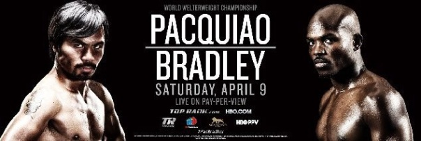 Pacquiao bs Bradley April 9th 2016