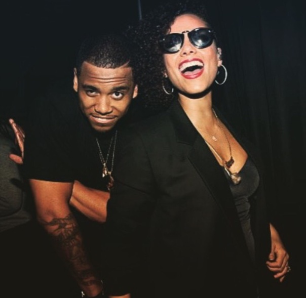 Mack wilds and Alicia keys