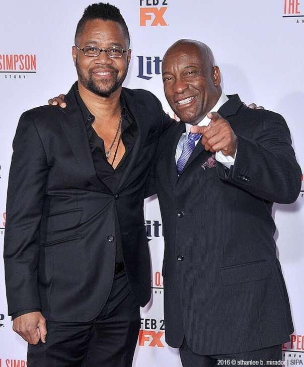 John singleton & Cuba Goodings Jr.