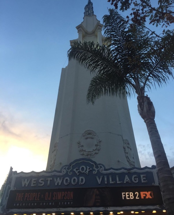 Fox theater, Westwood village Westpoppn Hollywood