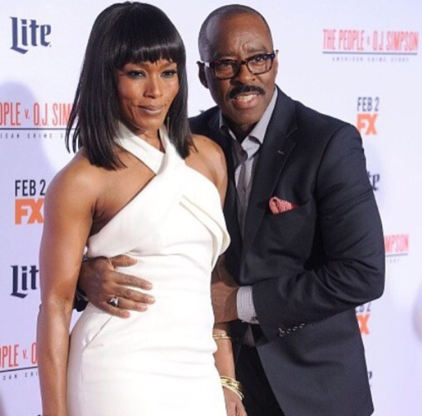 Angela Bassett and hubby courtney - people vs oh Simpson premiere- Westpoppn.com