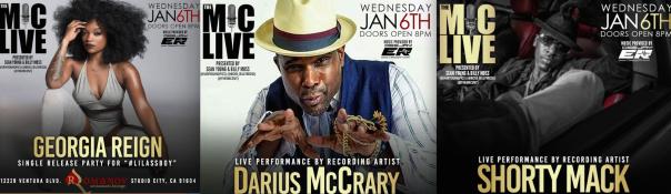 TheMicLIVE - Georgia Reign, Shorty Mack,Darius McCrary, - WESTPOPPN.COM