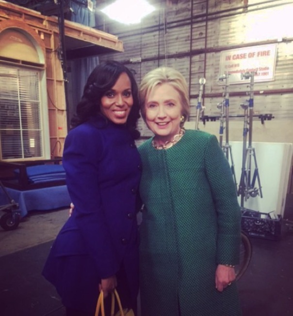 Kerry Washington & Hilary Clinton -Westpoppn.com