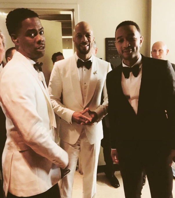 Chris Rock, Common, John Legend - Westpoppn.com #Ocars2016