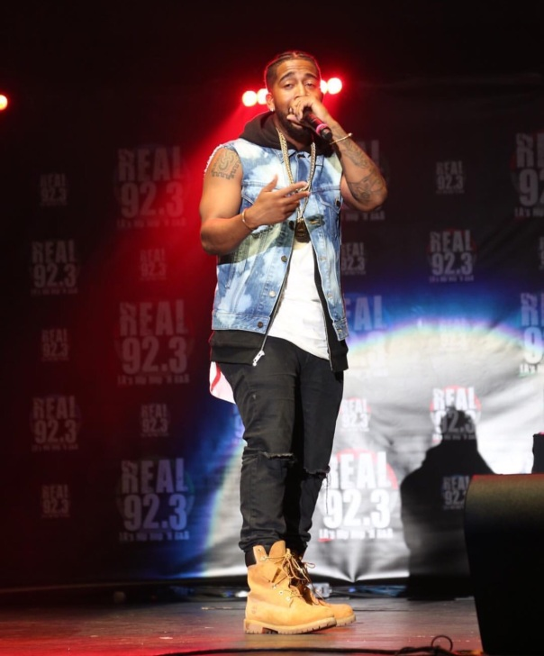 Omarion performing at the Real 92.3 Bday Bash - Westpoppn.com